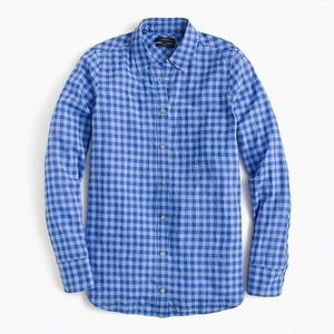 J. Crew | checkered button up